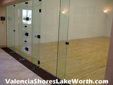 This is a luxury in Florida. Many communities may provide a racquetball court, but Valencia Shores two racquetball courts are indoor and air-conditioned.